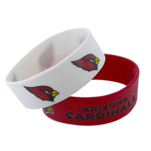 Arizona Cardinals Bracelets 2 Pack Wide