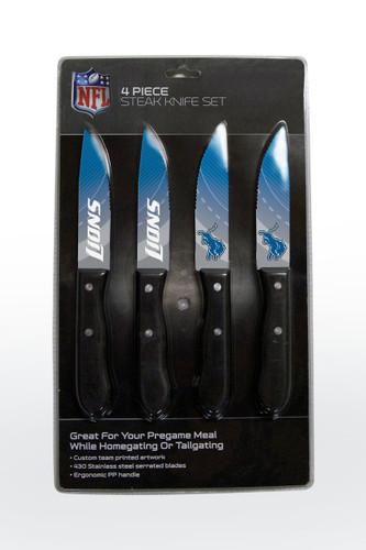 Detroit Lions Knife Set - Steak - 4 Pack
