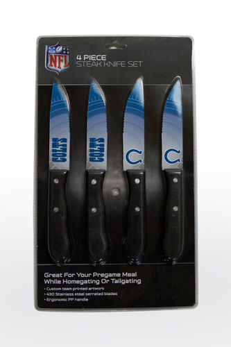 Indianapolis Colts Knife Set - Steak - 4 Pack
