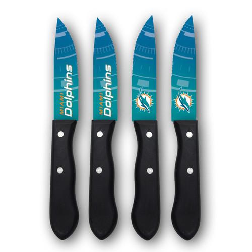 Miami Dolphins Knife Set - Steak - 4 Pack