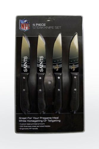 New Orleans Saints Knife Set - Steak - 4 Pack