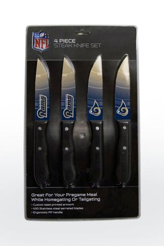 Los Angeles Rams Knife Set - Steak - 4 Pack