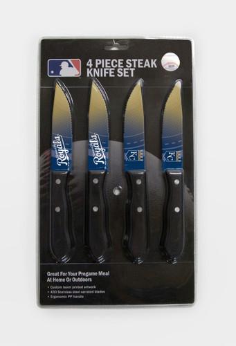 Kansas City Royals Knife Set - Steak - 4 Pack