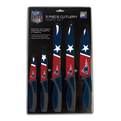 New England Patriots Knife Set - Kitchen - 5 Pack