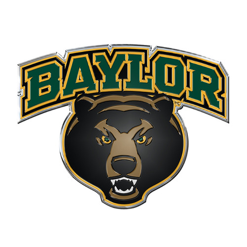 Baylor Bears Auto Emblem - Color