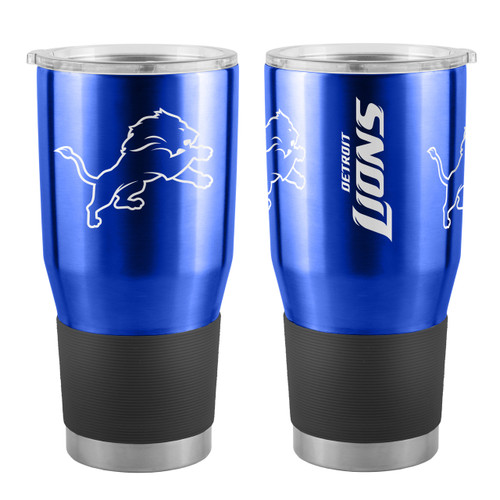 Detroit Lions Travel Tumbler 30oz Ultra Blue