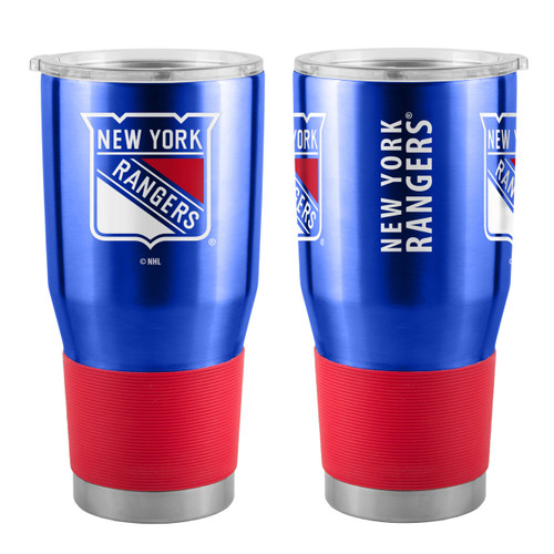 New York Rangers Travel Tumbler 30 oz Ultra Flared Blue