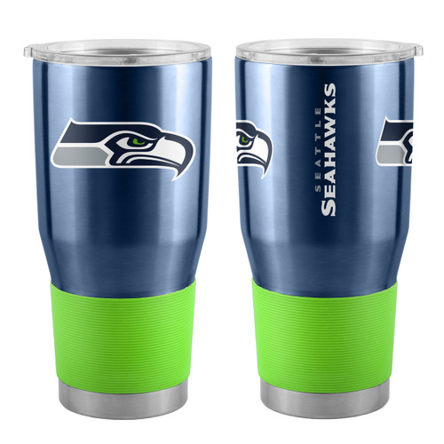 Seattle Seahawks Travel Tumbler 30oz Ultra Navy