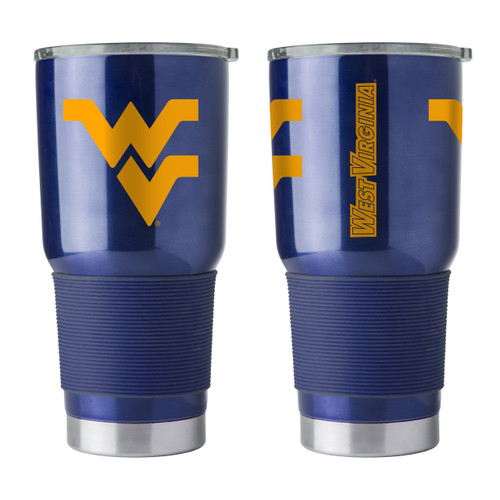 West Virginia Mountaineers Travel Tumbler 30 oz Ultra Flared Navy