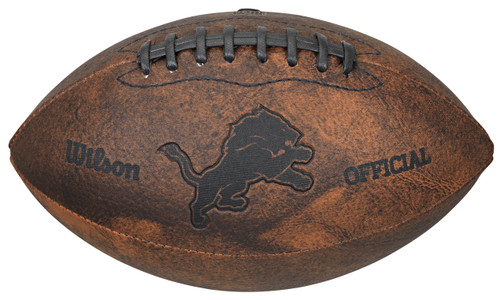 Detroit Lions Football - Vintage Throwback - 9 Inches