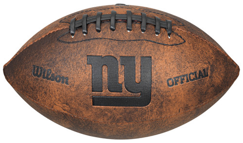 New York Giants Football - Vintage Throwback - 9 Inches