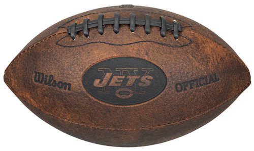 New York Jets Football - Vintage Throwback - 9 Inches