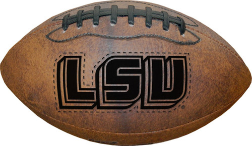 LSU Tigers Football - Vintage Throwback - 9 Inches