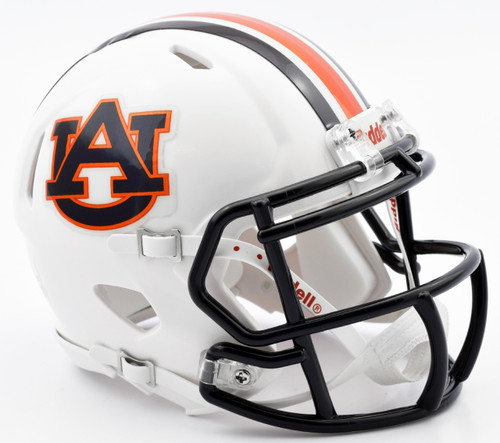 Auburn Tigers Speed Mini Helmet Chrome Decal