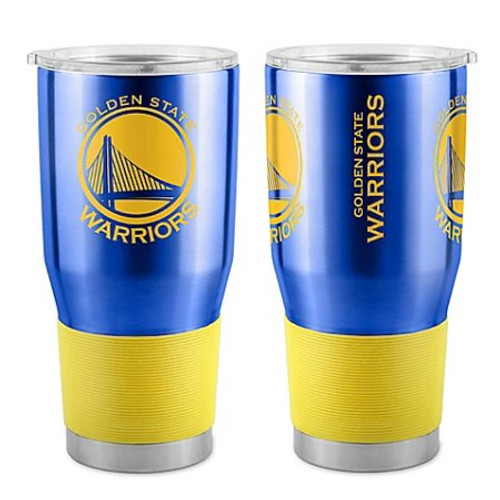 Golden State Warriors Travel Tumbler 30 oz Ultra Flared Blue