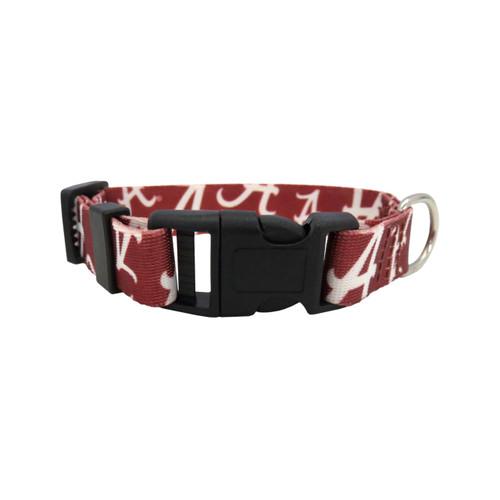 Alabama Crimson Tide Pet Collar Size S
