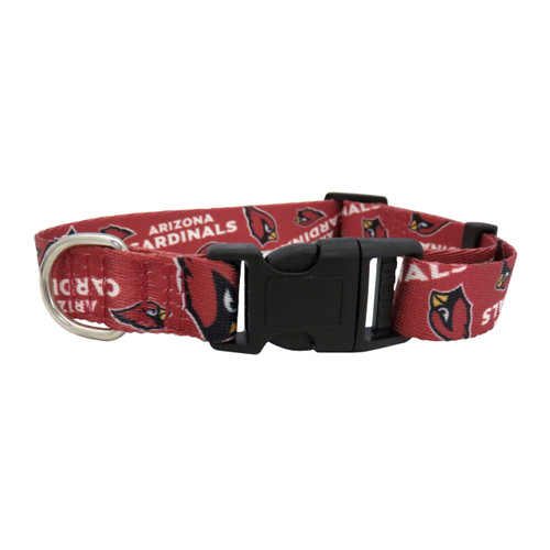 Arizona Cardinals Pet Collar Size M