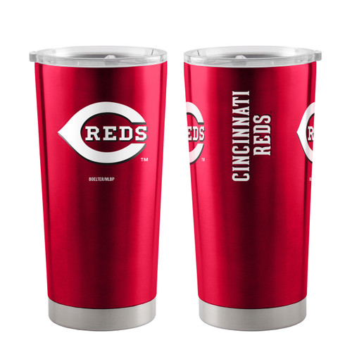 Cincinnati Reds Travel Tumbler 20oz Ultra Red