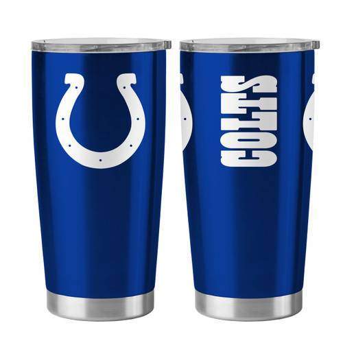 Indianapolis Colts Travel Tumbler 20 oz Ultra Flared Blue