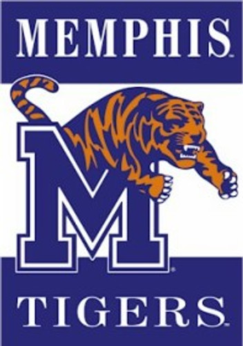 Memphis Tigers Banner 28x40 2 Sided