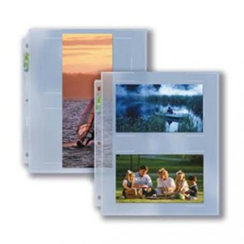 Ultra Pro 2-Pocket APS Photo Pages (Case of 300)