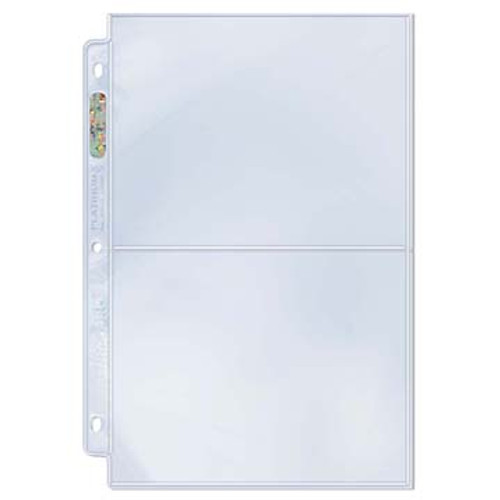 Ultra Pro 2-Pocket 5x7 Pages (Case of 300)