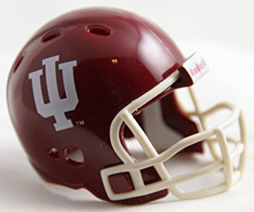 Indiana Hoosiers Helmet Riddell Pocket Pro VSR4 Style Bulk No Packaging