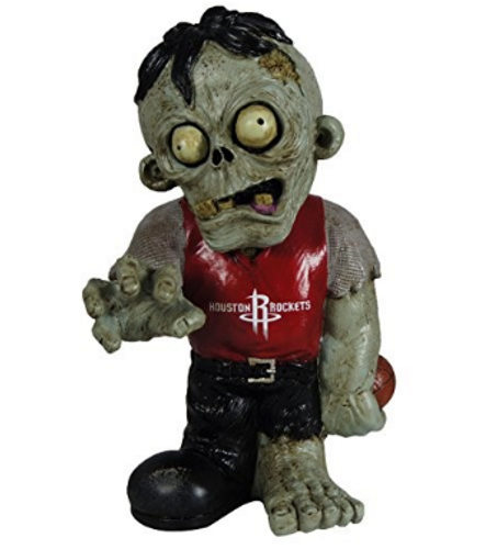 Houston Rockets Zombie Figurine - Thematic