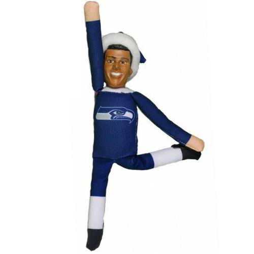 Seattle Seahawks Russell Wilson Plush Elf