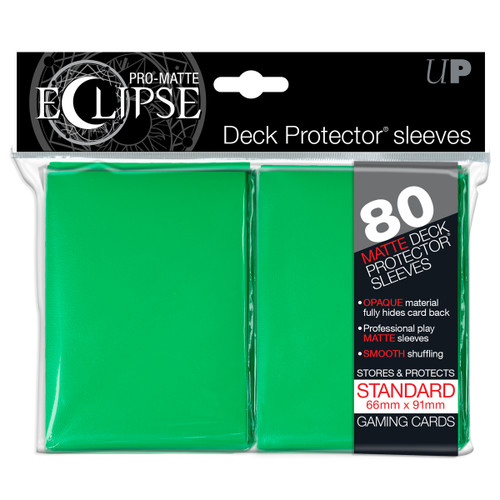 Deck Protectors - Pro Matte - Eclipse Green (8 packs per display)