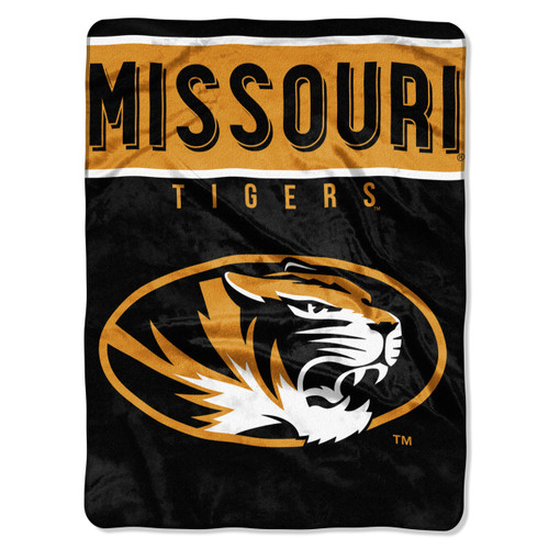 Missouri Tigers Blanket 60x80 Raschel Basic Design