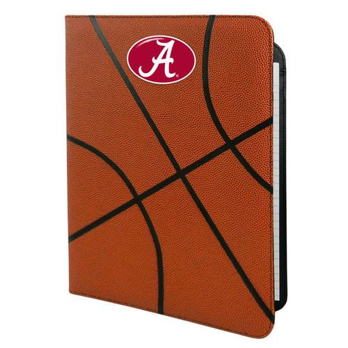 Alabama Crimson Tide Classic Basketball Portfolio - 8.5 in x 11 in