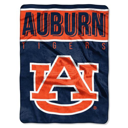 Auburn Tigers Blanket 60x80 Raschel Basic Design Special Order