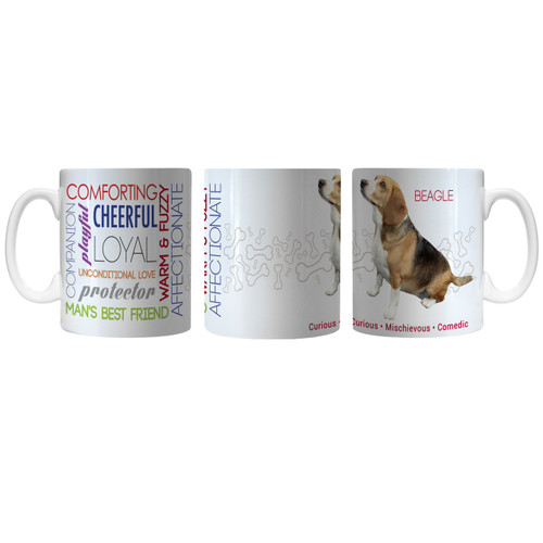 Pet Coffee Mug 11oz Beagle