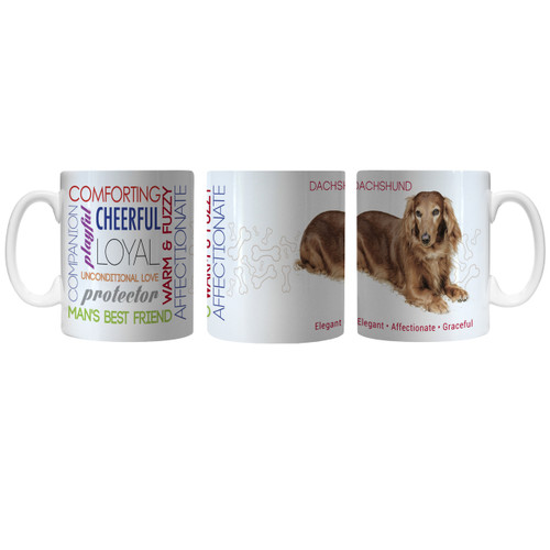 Pet Coffee Mug 11oz Dachshund