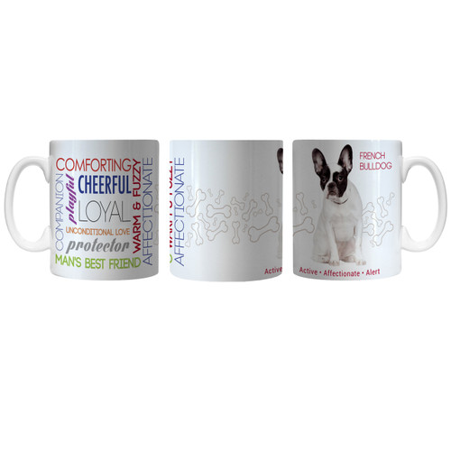 Pet Coffee Mug 11oz French Bulldog