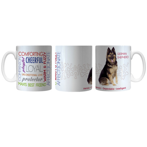 Pet Coffee Mug 11oz German Shepherd