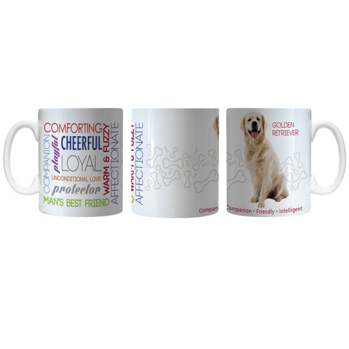 Pet Coffee Mug 11oz Golden Retriever