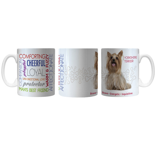 Pet Coffee Mug 11oz Yorkshire Terrier