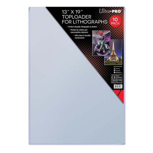 Top Loader 13x19 Lithograph (10 per pack)