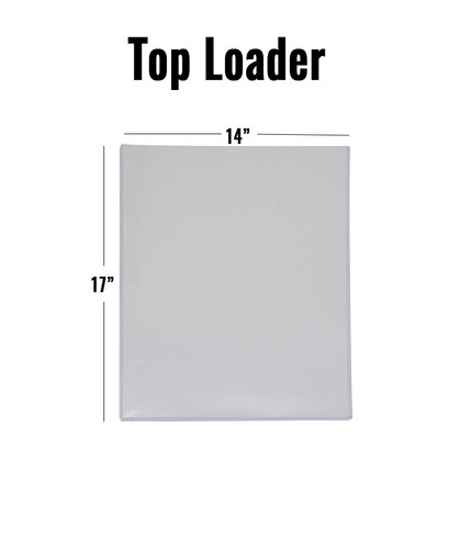 Top Loader - 14 x 17 - (10 per pack)