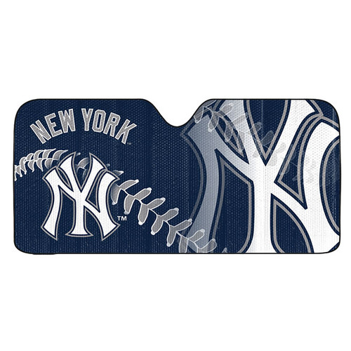 New York Yankees Auto Sun Shade 59x27