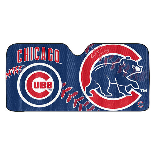 Chicago Cubs Auto Sun Shade 59x27