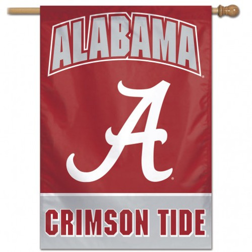 Alabama Crimson Tide Banner 28x40 Vertical
