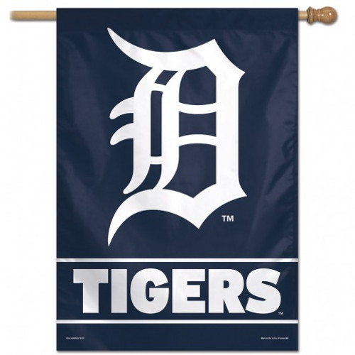 Detroit Tigers Banner 28x40 Vertical