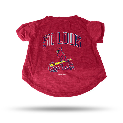St. Louis Cardinals Pet Tee Shirt Size M