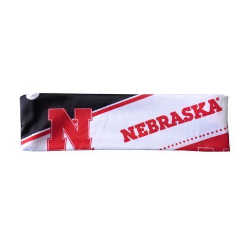 Nebraska Cornhuskers Stretch Patterned Headband - New Logo