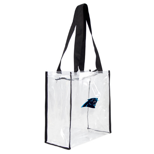 Carolina Panthers Clear Square Stadium Tote