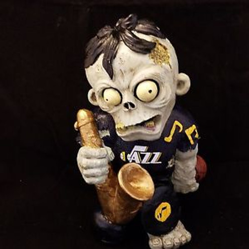 Utah Jazz Zombie Figurine - Thematic