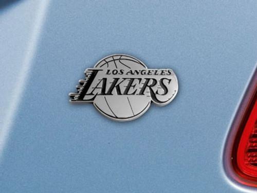 Los Angeles Lakers Auto Emblem Premium Metal FanMats